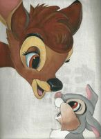 Bambi and Thumper bag by Macca4ever