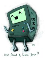 BMO 'Wanna Dance Dance?' by FischHead