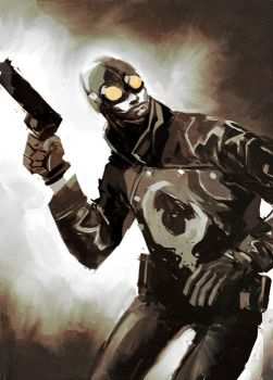 Lobster Johnson by celor