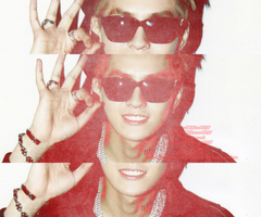 EXO KRIS (RED) by Claire0267