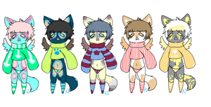 Cat Adopts :SALE: :UPDATE: by CARBONATED-STARDUST