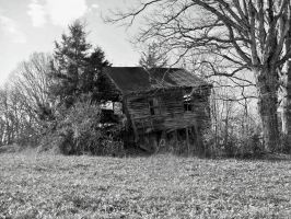 Old Abandoned House by superclayartist