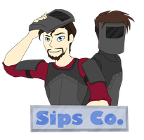 Xephos and Sips_ by WolfsKnight
