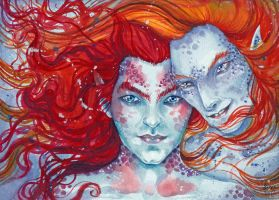 Redhaired mermen by liselotte-eriksson