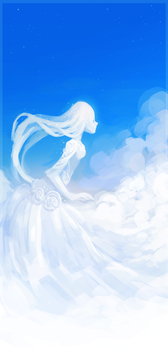 Cloudgirl by Belkovich