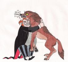 Don't Hug Wild Animals by 13foxywolf666