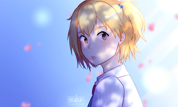 Yachi Hitoka by senapon