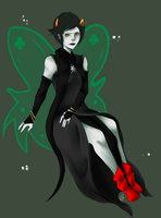 Kanaya Got Tiger by InsomniacJellyfish