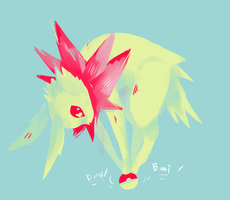Jolteon by Spanish-Scoot