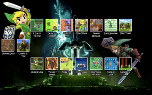 Zelda Timeline Wallpaper by psyniac