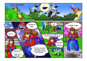 Princess Mario - Pages Four and Five by FieryJinx