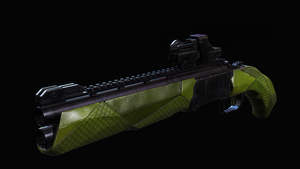 SCS 8 12 Ga. Arm Knight Shotgun by excatriate