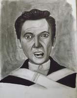 Peter Gabriel (Young) - Charcoal by sudro
