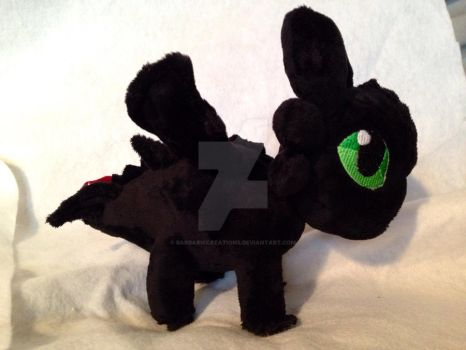 Toothless by BarbaricCreations