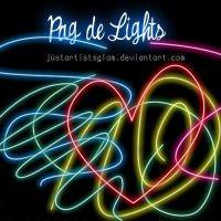 Paq de light png by justartistsglam