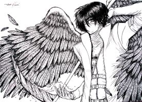 Death Angel -lineart by Tatmione