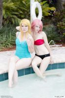 Haruko and Samus Swim 01 by thirdstop