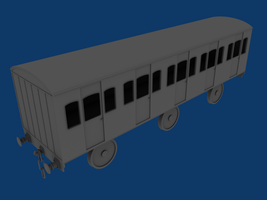 Wellsworth and Suddery Coach - Progress 1 by wildnorwester