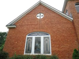 bostwick brick church by Luciferica