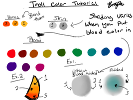 Troll Color Tutorial by LeCherryFatale