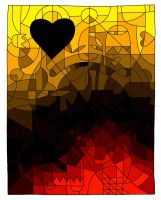 The Fire of my Heart by killabee
