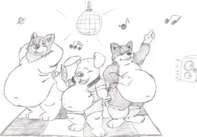 Group Pic 3-- DANCE by mrlabrador