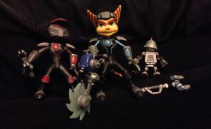 Ratchet and Clank action figures by Prince5s