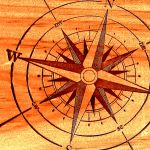compass rose by Mittelfranke