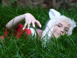 InuYasha: Hiding in the Grass by HellBoyfan