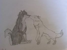 Wolf Love by Metalarchangel