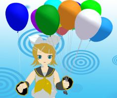 MMD balloon Download by 9844