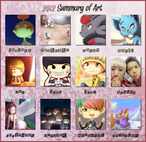 2012 Summary of Art by Millaii