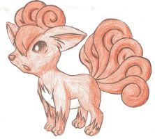 Vulpix by Steam-Gauge