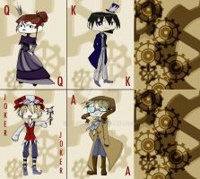 Steampunk Cards by Dil3mma