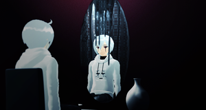 _MMD_ Even the mirror.. by xXHIMRXx