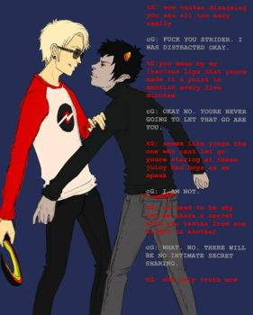 DaveKat for hahahero by HeyThereYoungDreamer