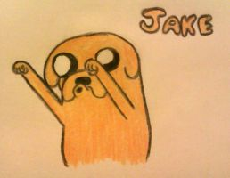 Jake the Dog by LomNom