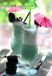 Mint Oreo Cookie Summer Drink by theresahelmer