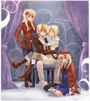 APH - America and the Canadians by Hetalia-Canada-DJ
