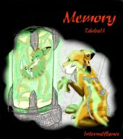 Memory partly colored by internalflames
