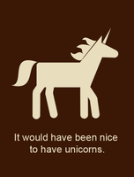 Nice to have Unicorns by MashedWhiteElephants