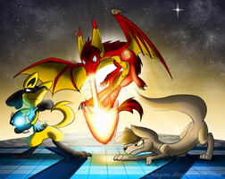 READY, SET, BRAWL! by SolarPaintDragon