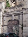 Trompe l'oeil. Beaucaire. France by jennystokes