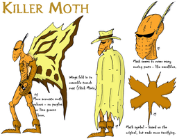KILLER MOTH MODELS by JohnnyFive81