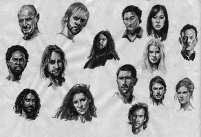 lost actors by A-BB