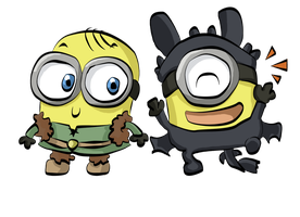 Minions Dressup by LeniProduction