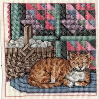 Cats, Baskets, and Quilts [Part 1] by pinkythepink