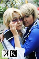 K-Project: Izumo and Seri by ChiaNoona