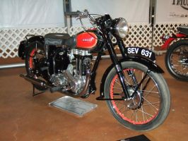 1951 Ariel Red Hunter VHA by Aya-Wavedancer