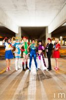 The Ladies of Street Fighter by MeganCoffey